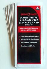 """""""Alcohol Free"""" Dollar Bill Validator / Acceptor Pre-saturated Cleaning Card 10/p"""