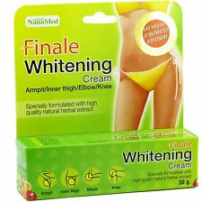 Finale Skin Whitening Cream for Bikini Line Armpits Thighs Elbows Knees 30g