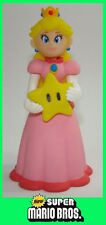 12cm Super Mario Brothers Action Figure Figurine princess PEACH with star