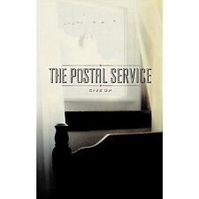 The Postal Service GIVE UP Limited Edition NEW SEALED RED COLORED CASSETTE TAPE