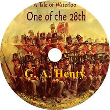 One of the 28th, G A Henty Audiobook Unabridged non Fiction English 10 Audio CDs
