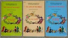 TOLKIEN ~ LORD OF THE RINGS TRILOGY ~ CANADIAN METHUEN COVERS ~ RARE PB Lot 33