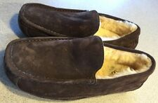 Ugg Slippers Ascot Dark Brown Loafer Size 8 Worn Once EUC!!!! Unisex