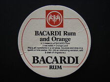 BACARDI RUM AND ORANGE COASTER