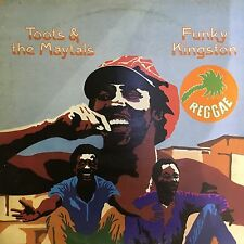 "RARE ISLAND 1978 TOOTS & MAYTALS ""FUNKY KINGSTON REGGAE"" LP VG++ COVER VG"