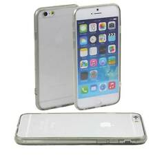 GREY iPHONE 6 APPLE 4.7 CASE HARD BACK CLEAR TPU SILICONE BUMPER COVER M45