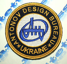 PATCH AVIATION ANTONOV DESIGN BUREAU UKRAINE AN AIR PLANE CARGO ORIGINAL