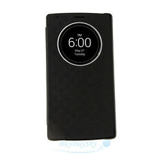 Quick Circle Case Auto Wake/Sleep Flip Cover NFC Wireless Charging for LG G4