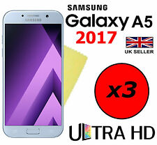 3x HQ ULTRA CLEAR HD SCREEN PROTECTOR COVER GUARDS FOR SAMSUNG GALAXY A5 2017