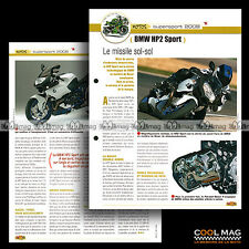 #jbt71.008 ★ BMW HP2 SPORT 2008 ★ Fiche Moto Motorcycle Card
