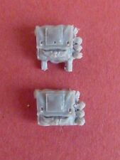 FORGEWORLD CADIAN SHOCK TROOPS with RESPIRATOR 2 X AMMO POUCHES - Bits 40K