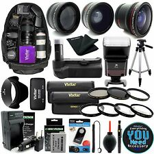 Canon EOS Rebel T3i / 600D Digital SLR Camera Everything You Need Accessory Kit