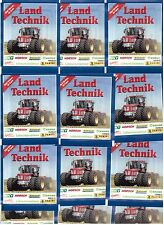 Land Technik / 25 Tüten / Panini / Sticker