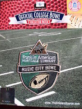 NCAA College Football Music City Bowl Patch 2014/15 Notre Dame, LSU