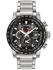 Citizen AT9071-58E Men's Eco Drive World Time Perpetual Calendar A-T Watch