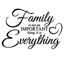 Family Quote vinyl decal for ribba frames, ikea frames, walls, canvas and more