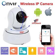Wireless 720P Pan Tilt Network Security CCTV IP Camera WiFi Baby Elderly Monitor