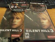 Silent Hill 3 and cold fear (Sony PlayStation 2, 2003) both complete lot of 2