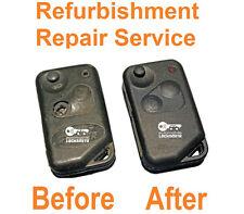 For Land Rover Range Rover P38 2 button remote key repair refurbishment service