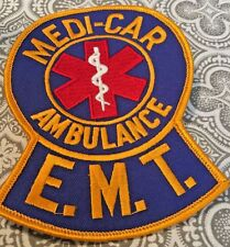 """Medi-Car Ambulance E.M.T. Patch Extra Large Embroidered Emergency 5 x 4"""" #280"""