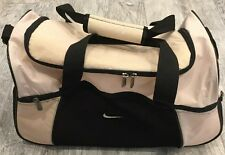 Vintage Nike Gym Duffel Bag Women's Pink Fitness Running Training 90's Good Cond