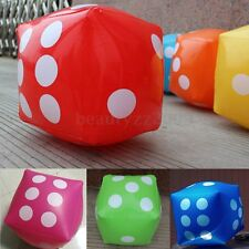 30cm Novelty Giant Inflatable Number Dice Outdoor Beach Toy Party Garden Game