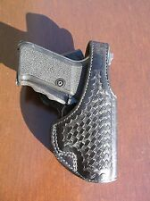 Vintage Bianchi #99A HK P7M8 P7M13 Leather Basket Weave Holster Police Duty
