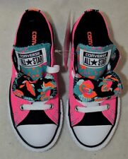 Converse Chuck Taylor Double Tongue OX Neo Pink/Multi Girl's Sneakers-Asst Sizes