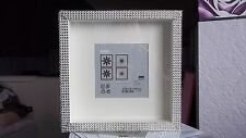 White Diamante/Bling Box 3D Photo Picture Frame Gift
