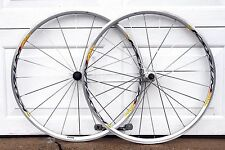 Mavic Ksyrium Equipe Silver 700c Clincher Alloy Road Bike Wheel Set Bicycle CX