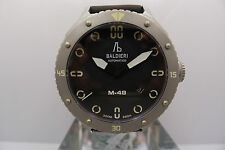 ALESSANDRO BALDIERI M48 ITALIAN DIVER 48MM STEEL NEW LIMITED PVD