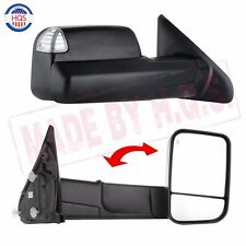 L/R Tow Mirrors Power Heated Led Signal for 02-08 Dodge Ram 1500 03-09 2500 3500