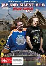 Jay And Silent Bob Down Under Live (DVD,2013, 2-Disc Set)-REGION 4-Free postage