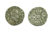 pci3302) Napoli Filippo II Re di Spagna (1556-1598) mezzo carlino o zenetta