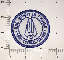 Good Counsel College Patch - One Spirit in Christ