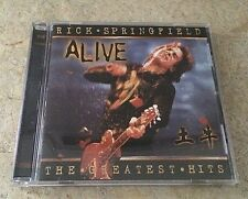 RICK SPRINGFIELD Greatest Hits...Alive CD 2001 Very Rare OOP MINT
