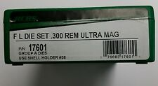 RCBS Full Length Die Set for 300 Remington Ultra Mag,  RUM,  #17601, NIB