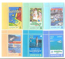 Guernsey holiday posters - art mnh set-Poster art 2003