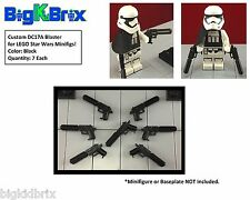 x7 Each DC17A Blasters for LEGO Star Wars REX Clone Troopers Minifigs BLACK #2