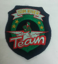 TOPPA PATCH AMERICANA DA GIUBBOTTO SUN RIVER TEAM SOFTAIR SOFT AIR NERA E VERDE