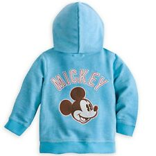 DISNEY STORE MICKEY MOUSE HOODED JACKET FOR BABY 12/18 MOS. NWT SOFT COTTON