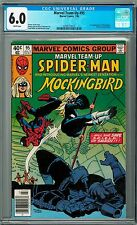 CGC 6.0 - Marvel Team-Up Spider-Man Mockingbird #95 [July 1980] 1st app / Comics