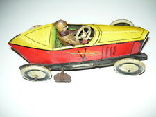 GUNDKA RACING CAR ORIGINAL GERMANY MODEL CAR VINTAGE SCHUCO DISTLER GAMA TIN TOY