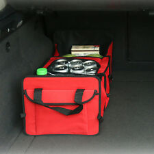 The car trunk bag 3 Compartment Boot Organizer Compartments  Carry Convenience