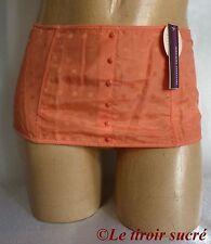 PRINCESSE TAM TAM serre-taille MILLA T3 rose vintage lingerie coton soie neuf
