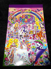 new over 300 colorful Lisa Frank stickers booklet school teachers home school
