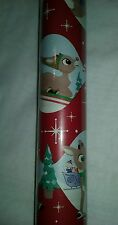 Rudolph the Red Nosed Reindeer Holiday Christmas Gift Wrapping Paper 125sq