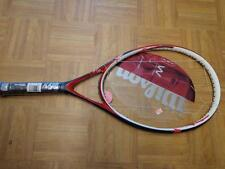 NEW Wilson W2 Spicy Ruby 117 head head 4 1/2 grip Tennis Racquet