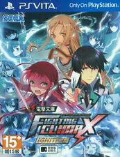 New Sony PS Vita Games Dengeki Bunko Fighting Climax Ignition Hong Kong Version