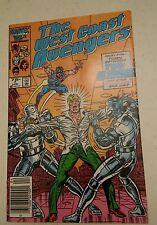 000 Vintage Marvel Comic book West Coast Avengers Vol 2 #7 1986 Nice